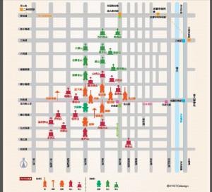祇園祭地図